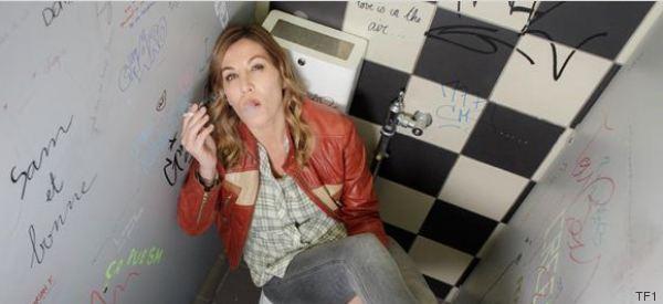 Mathilde Seigner a trop fumé pour son rôle de