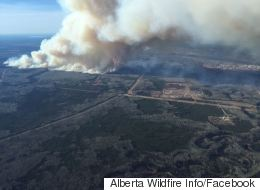 Massive Wildfire Near Fort McMurray Forces Hundreds To Evacuate