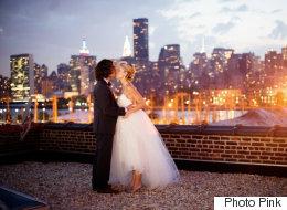 28 photos de mariages urbains incroyablement romantiques