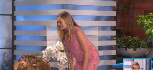 Elizabeth Olsen n'est pas du tout douée pour le twerk