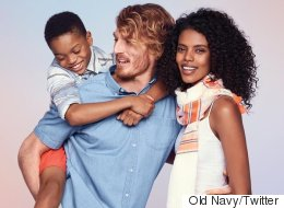Old Navy Ad Attacked By Racist Trolls, Internet Has Powerful Response