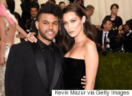 The Weeknd And Bella Hadid Prove Romance Isn't Dead At Met Gala