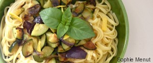 LINGUINE COURGETTES CITRON