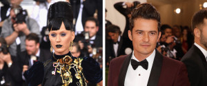 KATY PERRY ORLANDO BLOOM GALA MET
