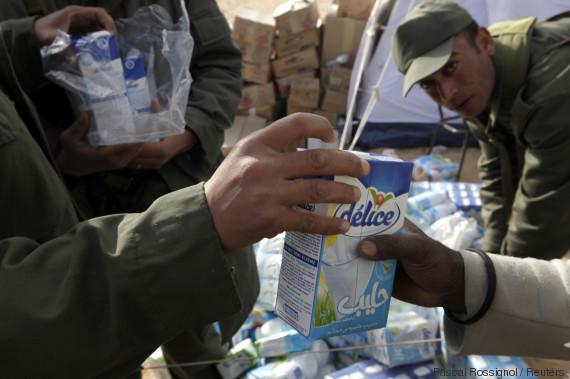 milk tunisia