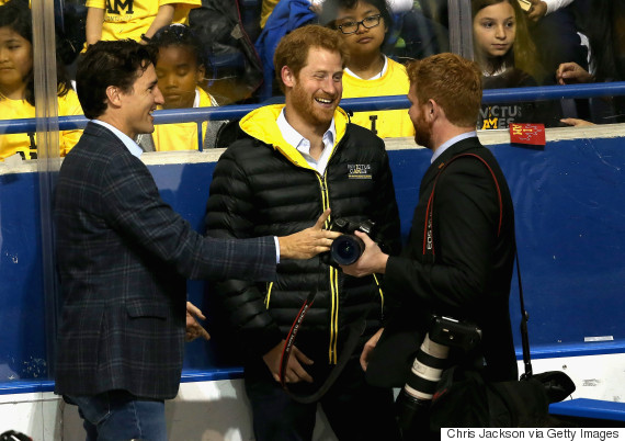 trudeau prince harry