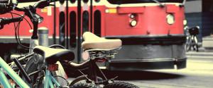 Bike Streetcar Toronto