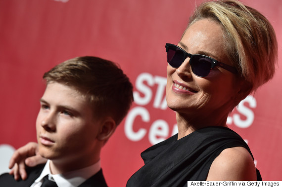 sharon stone son