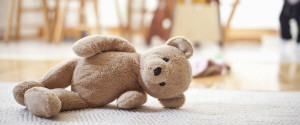 TEDDY ON FLOOR