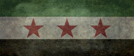 SYRIA REVOLUTION FLAG