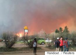 Incendie monstre: Trudeau offre un soutien complet