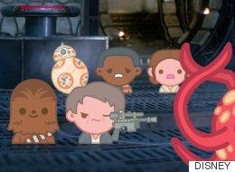 'Star Wars: el despertar de la Fuerza', en versión emoji