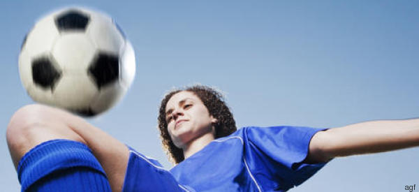 Sono una donna e gioco a calcio