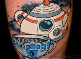 'Star Wars' es cuestión de piel