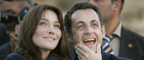 CARLA BRUNI SARKOZY COUPLE