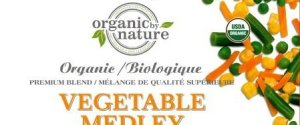 ORGANIC BY NATURE VEGETABLE MEDLEY
