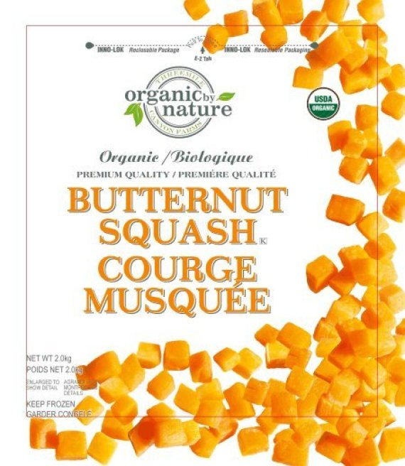 organic by nature butternut squash