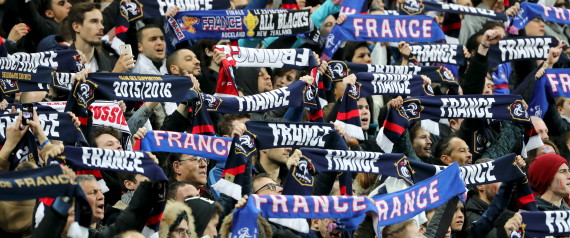 FOOTBALL FANS FRANCE