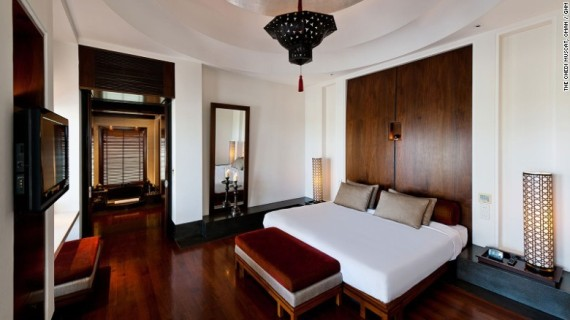 high ceilings high class the chedi muscats
