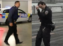 Le «running man challenge» prend de l'ampleur avec ces policiers (VIDÉO)