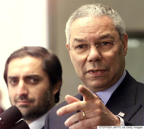 colin powell afghanistan