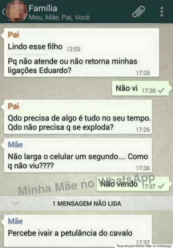 mãe whatsapp