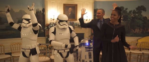 VIDEO OBAMA STAR WARSDANSE