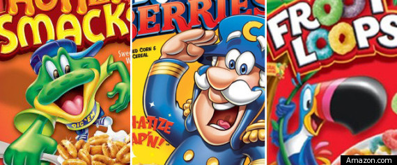 Sugariest Childrens Cereals