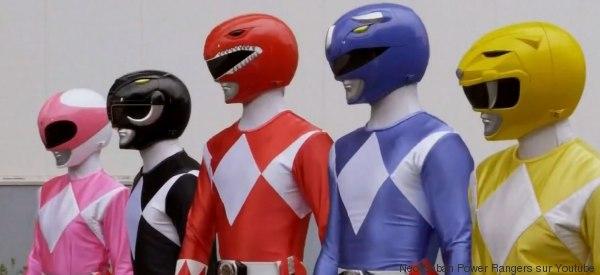 Les Power Rangers ne ressemblent plus à ça