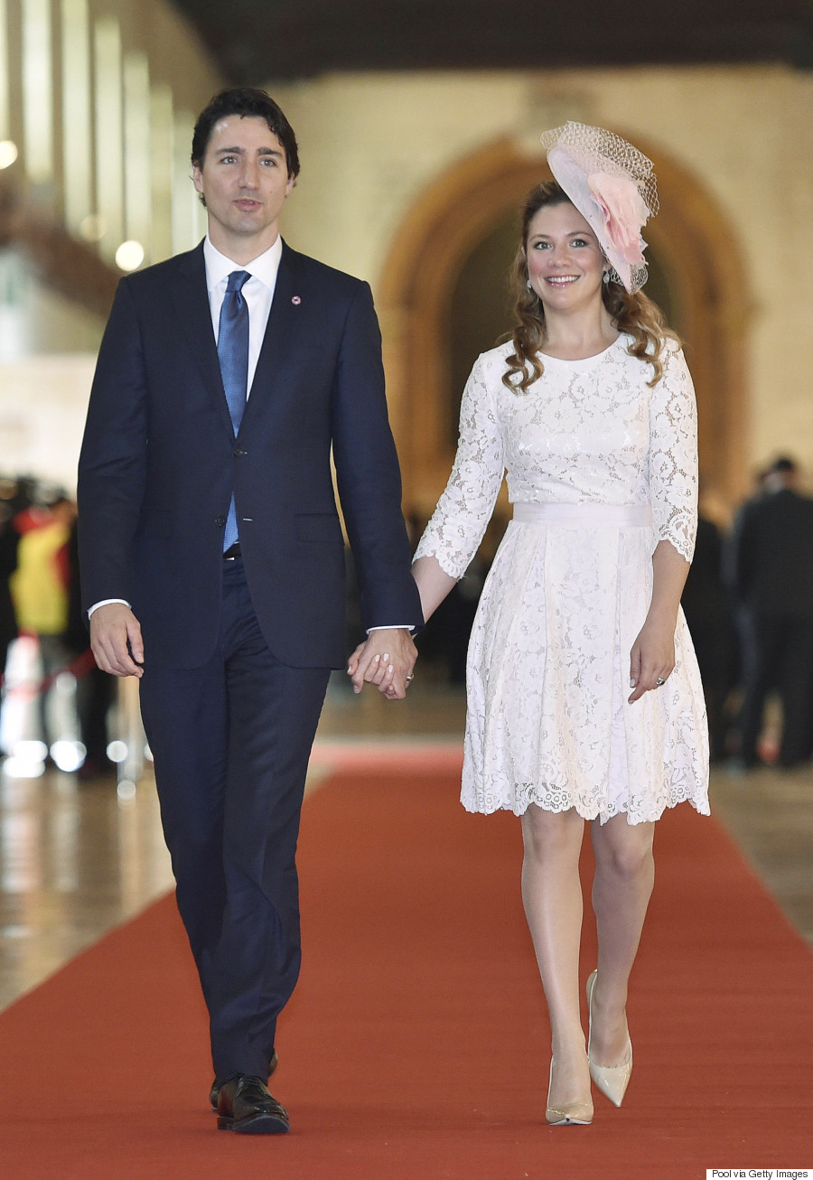 Sophie Trudeau Lands Fashion Magazine Cover: Hello! Canada's Most Beautiful Canadians Of 2016: Justin