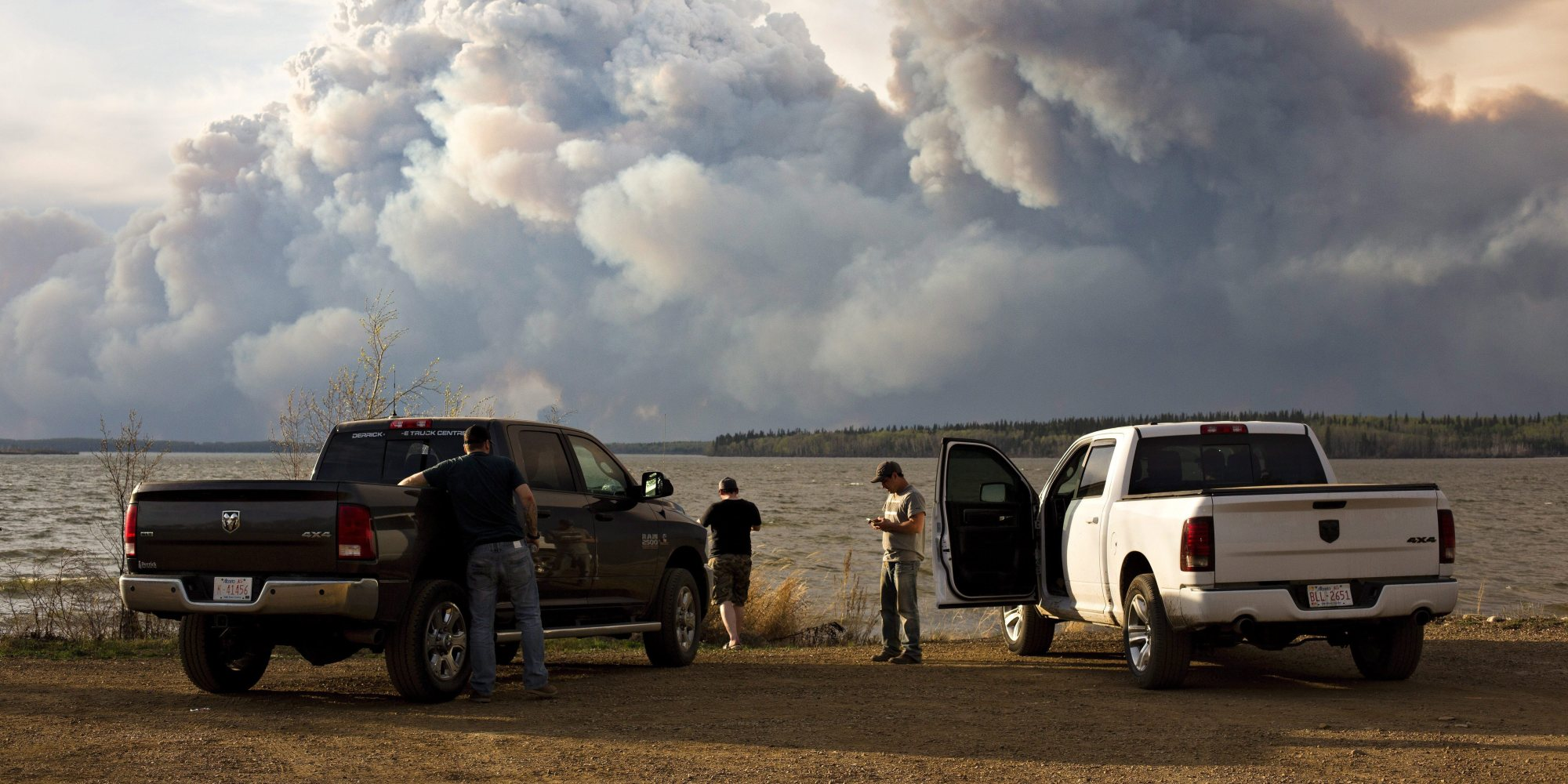 Fort McMurray (AB) Canada  city images : Fort McMurray Fire Was Likely Caused By Humans: Researcher