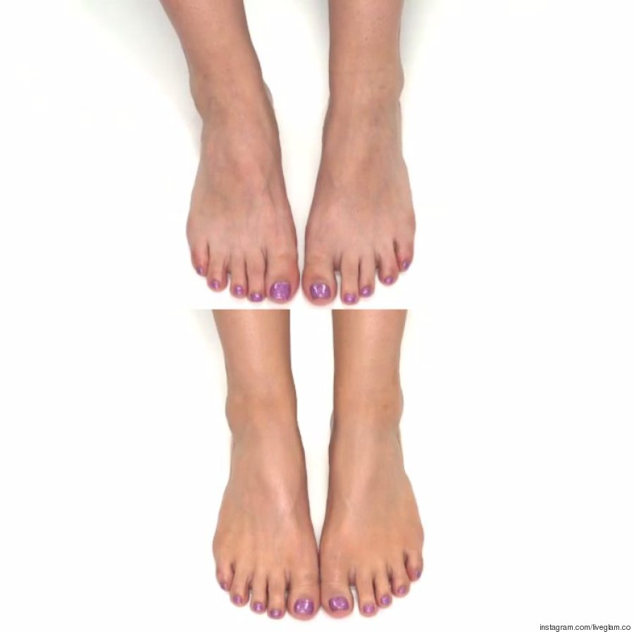 foot contour