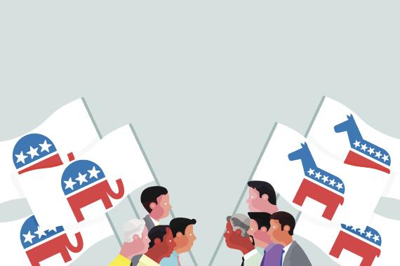 republican democrat logo