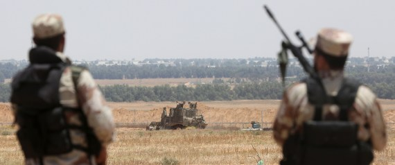 QASSAM ON GAZA BORDER