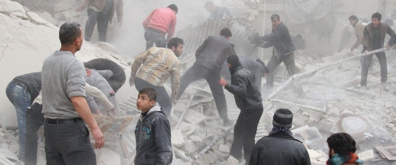 DESTRUCTION OF ALEPPO