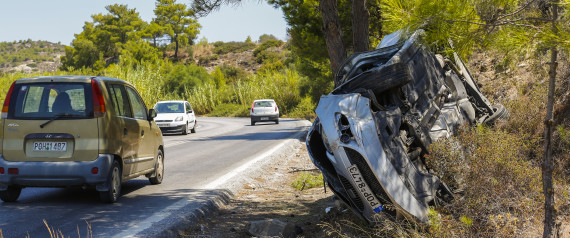 CAR ACCIDENTS GREECE