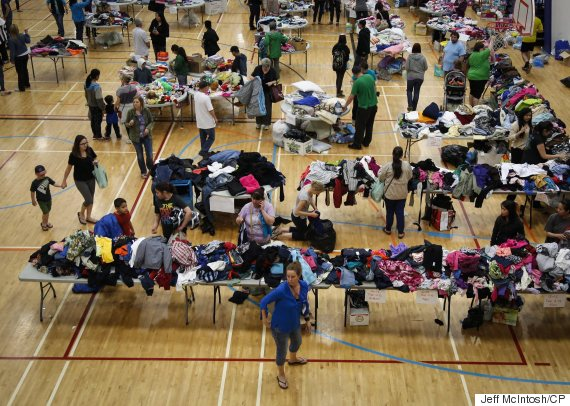 fort mcmurray evacuees