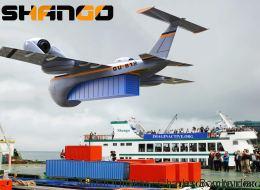 Shango: l'avion cargo qui permet le ravitaillement là où il n'y a pas d'aéroport