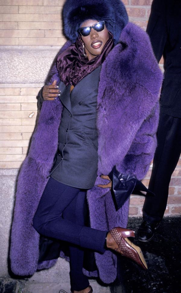 Grace Jones Loves Purple 1987 Huffpost Life