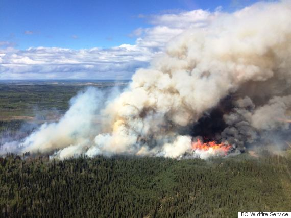 fort st john wildfire