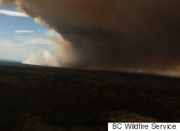 Heat Wave Fuels Wildfires In Northern B.C.