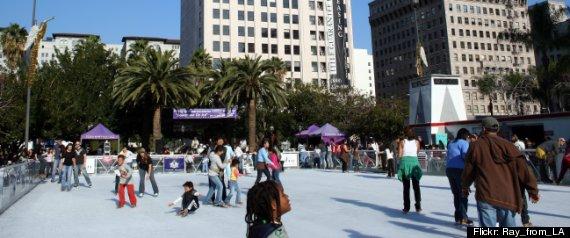 ICE SKATING LOS ANGELES