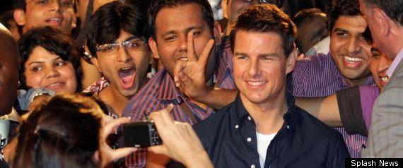 TOM CRUISE INDIA