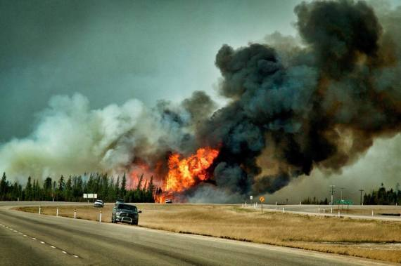 fort mcmurray fire splash