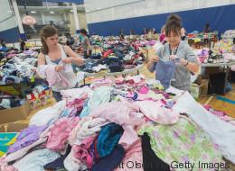 Une fête douce amère pour les mères sinistrées de Fort McMurray