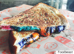 Rainbow Grilled Cheese Hits The U.S. And Here's Exactly Where To Find It