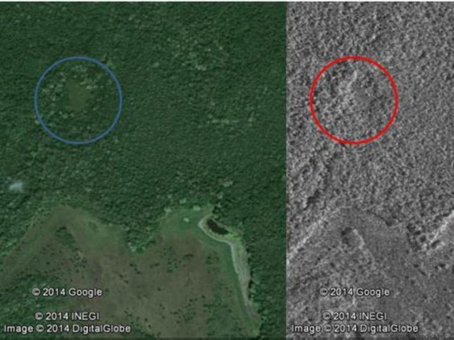 città maya perduta
