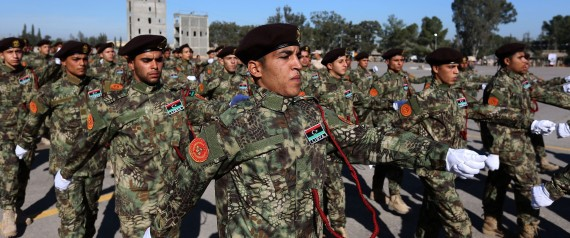 A LIBYAN MILITARY FORCE