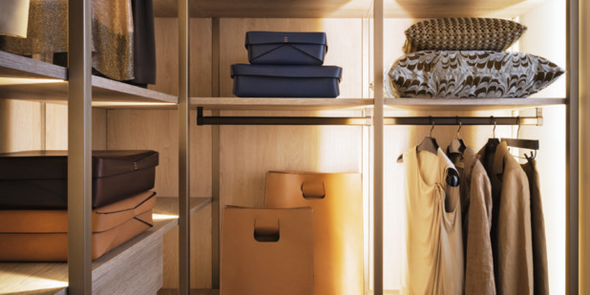 Houzz vi spiega come realizzare la cabina armadio perfetta - Moduli per cabina armadio ...