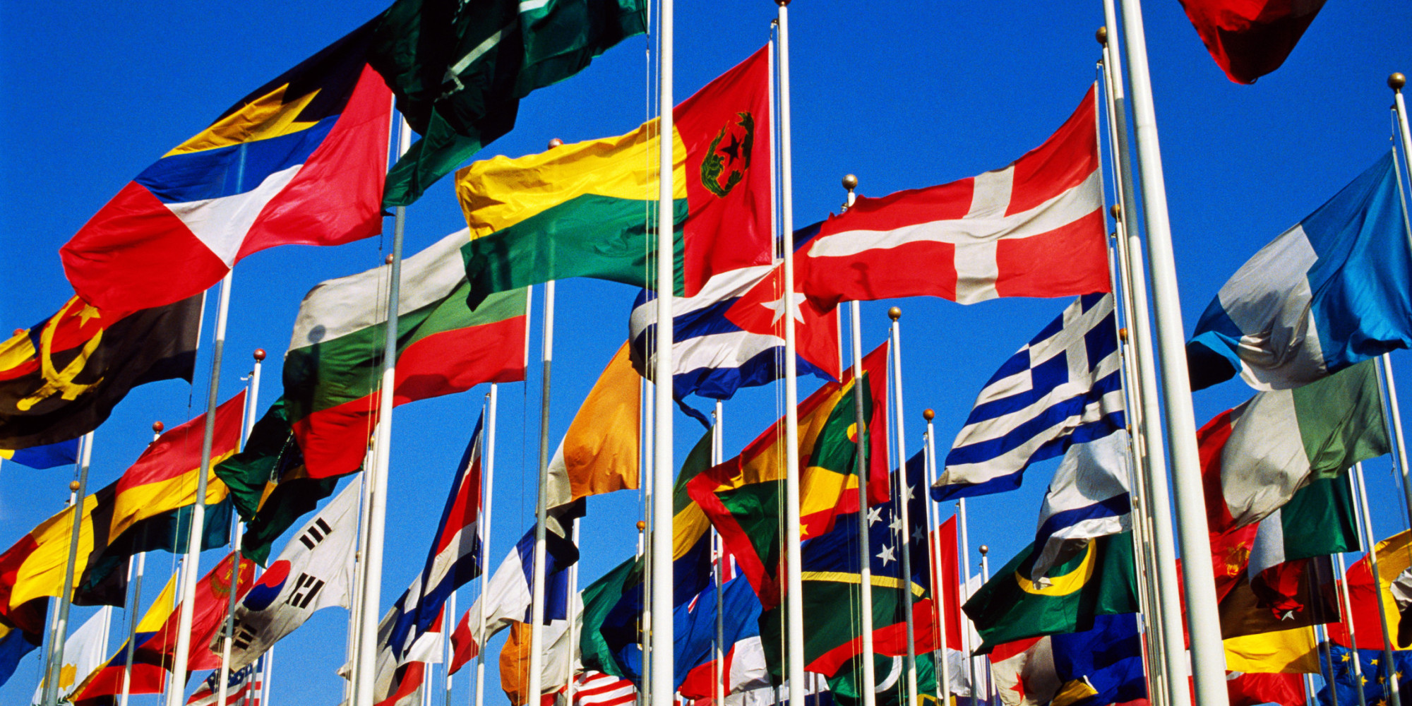 United Nations Flags With Names Millennials Nam...